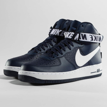 Nike Сникеры Air Force 1 High 07 синий
