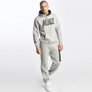 Nike Anzug NSW Fleece grau