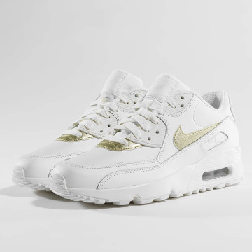 Nike Baskets Air Max 90 Leather (GS) blanc