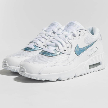 Nike Baskets Air Max 90 Mesh (GS) blanc