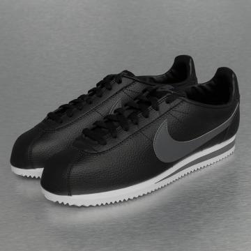 Nike Baskets Classic Cortez Leather noir