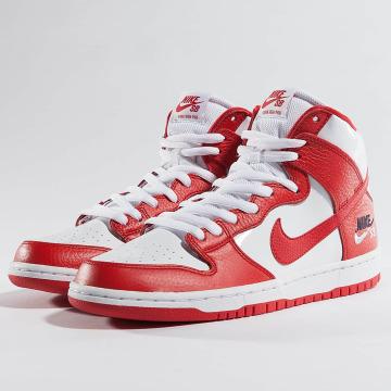 Nike Baskets SB Dunk High Pro rouge