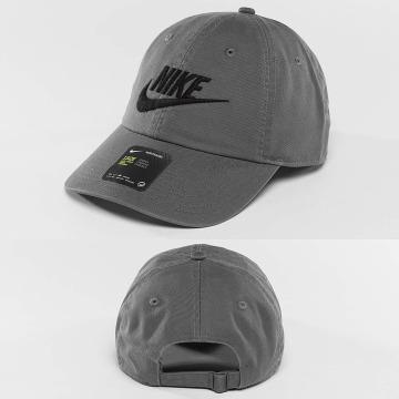 Nike Casquette Snapback & Strapback Futura H86 gris