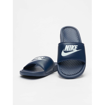 Nike Claquettes & Sandales Benassi JDI bleu