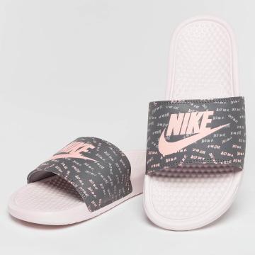 Nike Claquettes & Sandales Benassi Just Do It rose