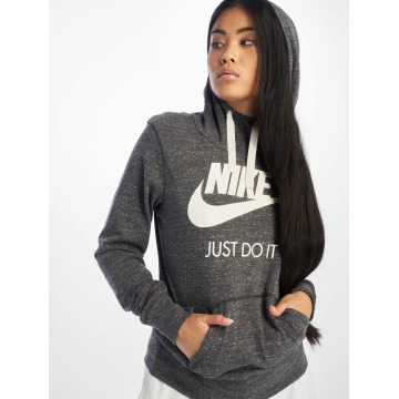 Nike Felpa con cappuccio Gym Vintage grigio