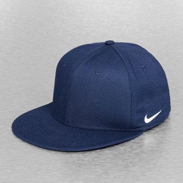 Nike Flexfitted Cap True Swoosh blau
