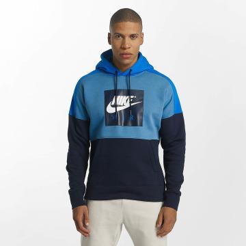 Nike Hoodie Aegean blå