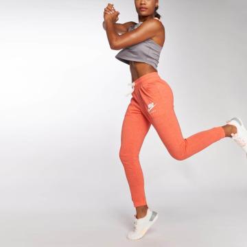 Nike joggingbroek Gym Vintage oranje