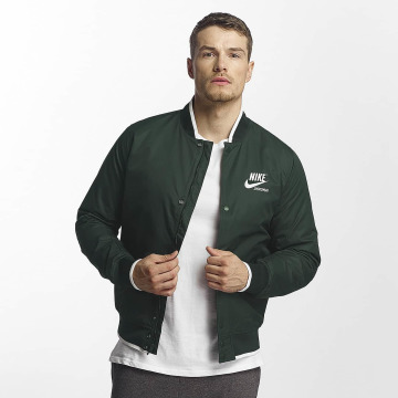 Nike Kurtki przejściowe NSW Archive zielony