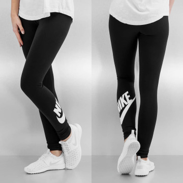 Nike Leggings Leg-A-See Logo svart