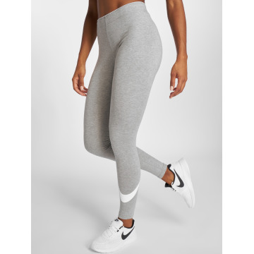 Nike Leggings/Treggings Club Logo 2 gray