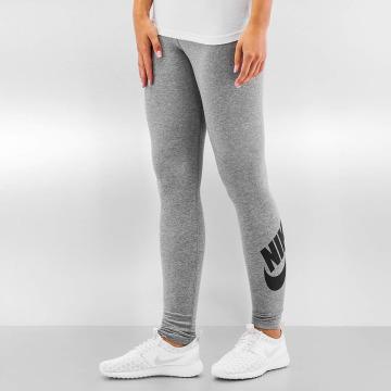 Nike Leggings/Treggings Leg-A-See Logo gray