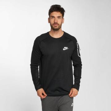 Nike Longsleeve Sportswear AV15 Fleece schwarz