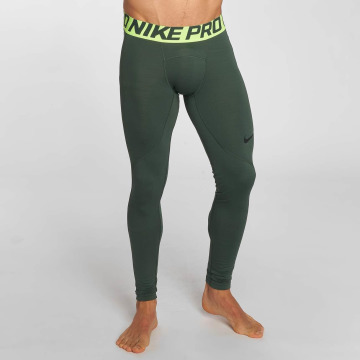 Nike Performance Leggings/Treggings Pro Warm oliven