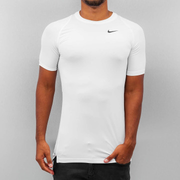 Nike Performance T-Shirty Pro Cool Compression bialy