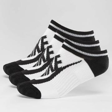 Nike Ponožky Striped No-Show biela