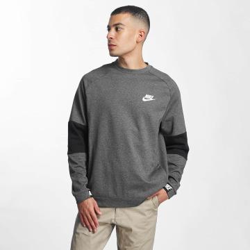 Nike Pullover Sportswear Advance 15 Fleece grau
