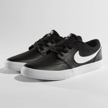 Nike SB Сникеры SB Solarsoft Portmore ll Premium Skateboarding черный