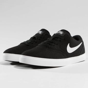 Nike SB Сникеры SB Check Canvas черный