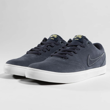 Nike SB Baskets SB Check Solarsoft Skateboarding bleu