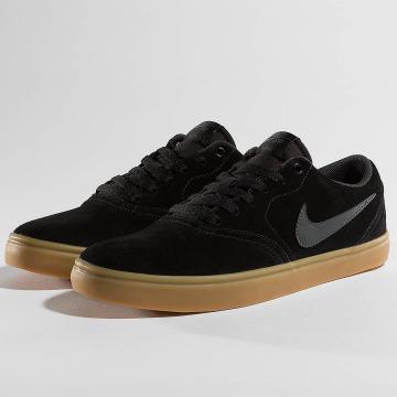 Nike SB Baskets Check Solarsoft Skateboarding noir