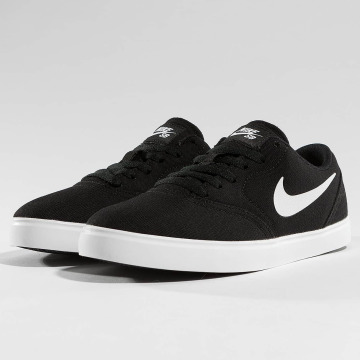 Nike SB Baskets SB Check Canvas noir