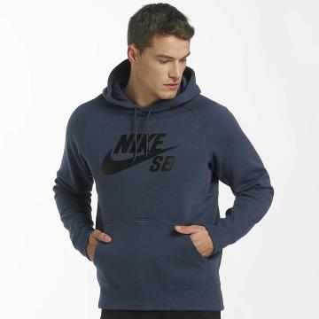 Nike SB Bluzy z kapturem SB Icon niebieski