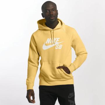 Nike SB Bluzy z kapturem SB Icon zólty