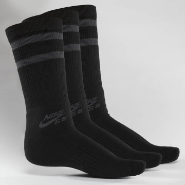 Nike SB Calzino SB Crew Skateboarding 3-Pack nero