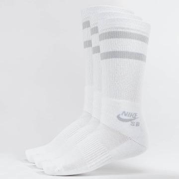 Nike SB Chaussettes SB Crew Skateboarding 3-Pack blanc