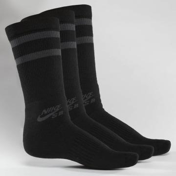 Nike SB Ponožky SB Crew Skateboarding 3-Pack čern