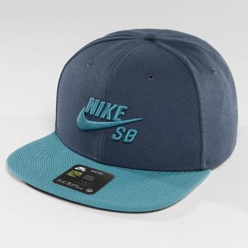 Nike SB Snapback Cap SB Icon blau