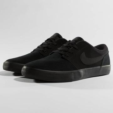 Nike SB Sneaker SB Solarsoft Portmore ll schwarz