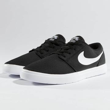 Nike SB Sneaker SB Portmore II Ultralight schwarz