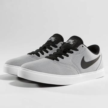 Nike SB Sneakers SB Check Canvas šedá