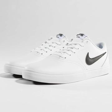 Nike SB Sneakers SB Check Solarsoft Skateboarding bialy