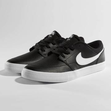 Nike SB Snejkry SB Solarsoft Portmore ll Premium Skateboarding čern