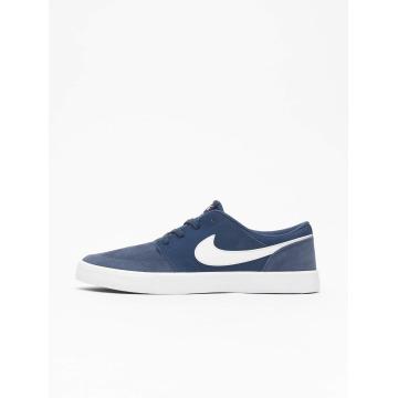 Nike SB Snejkry Solarsoft Portmore ll modrý