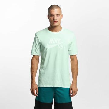 Nike SB t-shirt Logo groen