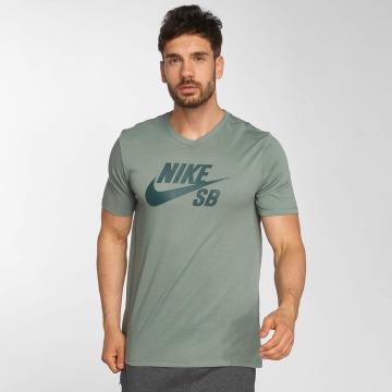 Nike SB T-shirt Logo grön
