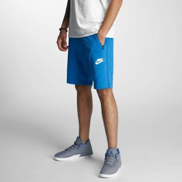 Nike Short NSW AV15 FLC bleu