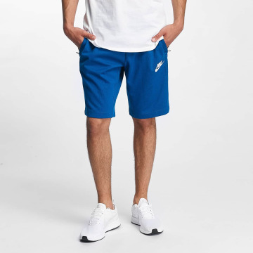 Nike Shorts AV15 Fleece blau