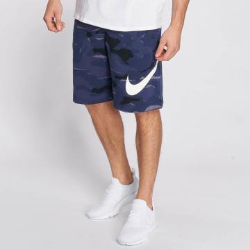 Nike Shorts Sportswear FT Club Camo QS blau