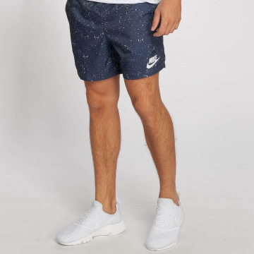 Nike Shorts Flow Aop Woven blau