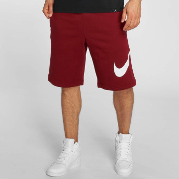 Nike Shortsit FLC EXP Club punainen