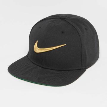 Nike Snapback Cap Swoosh Pro schwarz