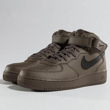 Nike Sneaker Air Force 1 Mid '07 braun