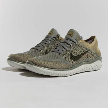 Nike sneaker Free RN Flyknit 2018 olijfgroen