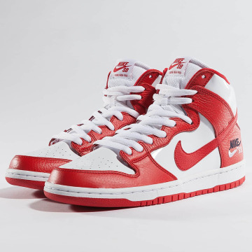 Nike Sneaker SB Dunk High Pro rot